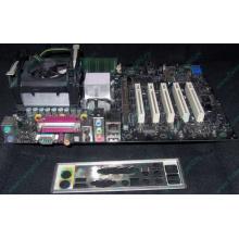 Материнская плата Intel D845PEBT2 (FireWire) с процессором Intel Pentium-4 2.4GHz s.478 и памятью 512Mb DDR1 Б/У (Артем)