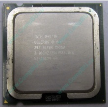 Процессор Intel Celeron D 346 (3.06GHz /256kb /533MHz) SL9BR s.775 (Артем)